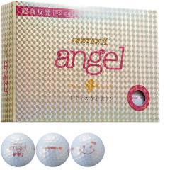 韋駄天 IDATENX angel ボール 5ダースセット 5ダース(60個入り) パールホワイト 【非公認球】レディス