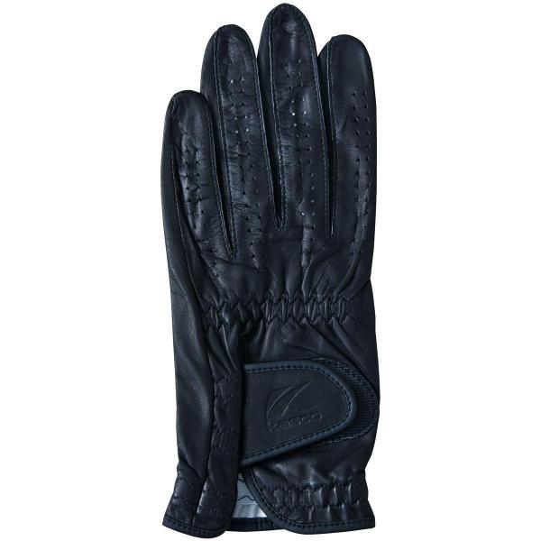 キャスコ KASCO シルキーフィットグローブ レギュラーサイズ 5枚セット 23cm 左手着用(右利き用) ブラック