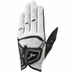 ミズノ MIZUNOOP W-GRIP グローブ 指先ショートタイプ 24cm 左手着用(右利き用) ホワイト/ブラックの画像