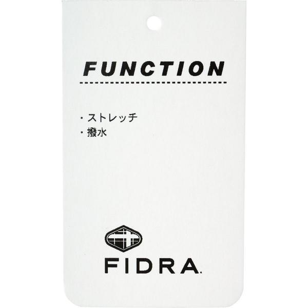 フィドラ FIDRA ストレッチノータックパンツ レディス