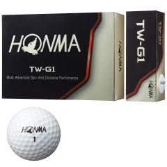 本間ゴルフ HONMATW-G1 ボール 1ダース(12個入り) ホワイト