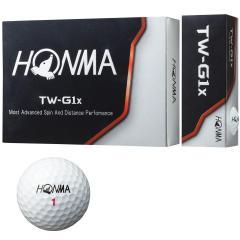 本間ゴルフ HONMA TW-G1x ボール 5ダースセット 5ダース(60個入り) ホワイト