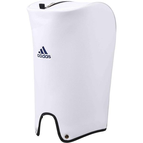 アディダス Adidas シルバーロゴキャディバッグ