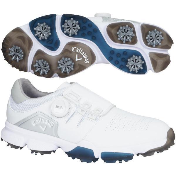 キャロウェイゴルフ Callaway Golf ゴルフシューズ 24.5cm ホワイト