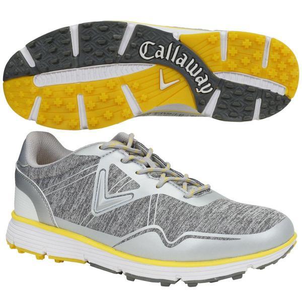 キャロウェイゴルフ Callaway Golf ゴルフシューズ 28cm グレー