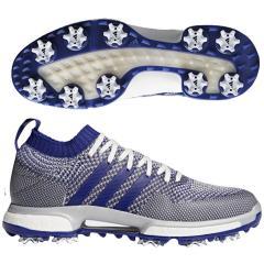 アディダス Adidasツアー360 ニットシューズ 24.5cm グレーワン/リアルパープル/ホワイト