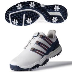 アディダス Adidas パワーバンド ボア ブーストシューズ 27cm ホワイト/ナイトインディゴ/ボールドレッド