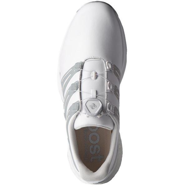 アディダス Adidas パワーバンド ボア ブーストシューズ 26cm ホワイト/ナイトインディゴ/ボールドレッド