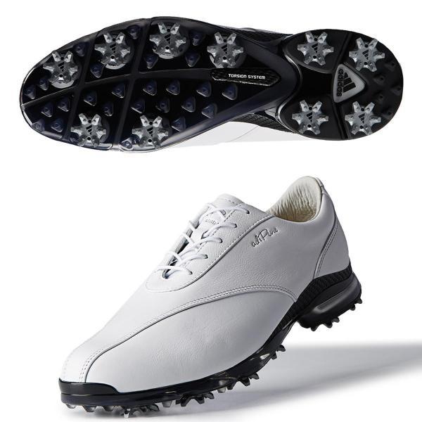 アディダス Adidasアディピュア TP 2.0シューズ 27.5cm ホワイト/ホワイト/コアブラック