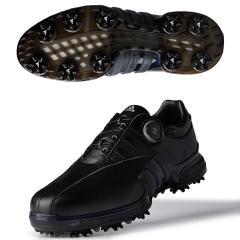 アディダス Adidas ツアー360 EQT ボアシューズ 25.5cm コアブラック/コアブラック/コアブラック