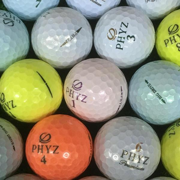 ロストボール Lost BallBRIDGESTONE PHYZ各種混合 ボール 30個セット 30個入り 混合