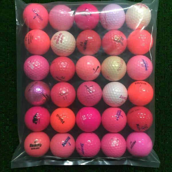 ロストボール Lost Ballブランド混合 ボール 30個セット 30個入り ピンク