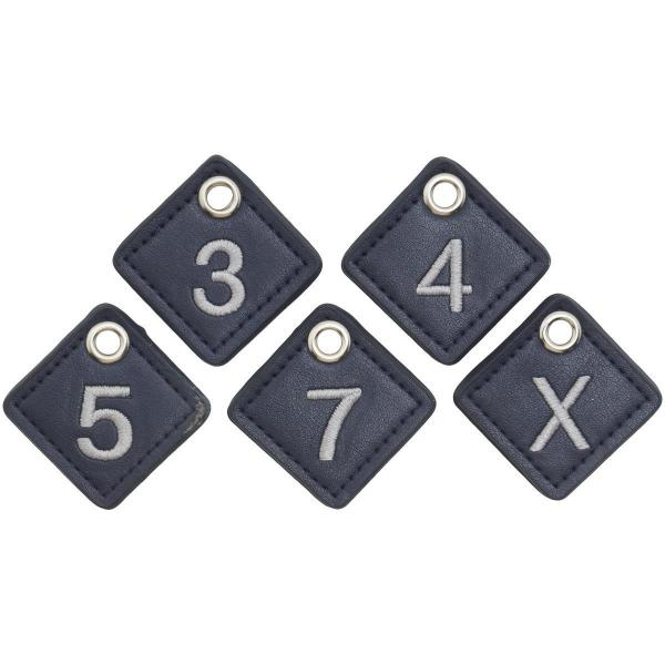 ヒールクリーク Heal Creek ヘッドカバー FW用 有り/番手付け替え式(3、4、5、7、X) ネイビー