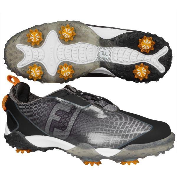 フットジョイ Foot Joyフリースタイル2 シューズ 25cm ブラック/オレンジ