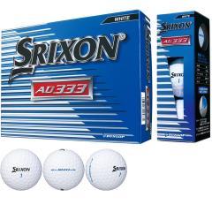 ダンロップ SRIXONスリクソン AD333-7 ボール 1ダース(12個入り) ホワイト