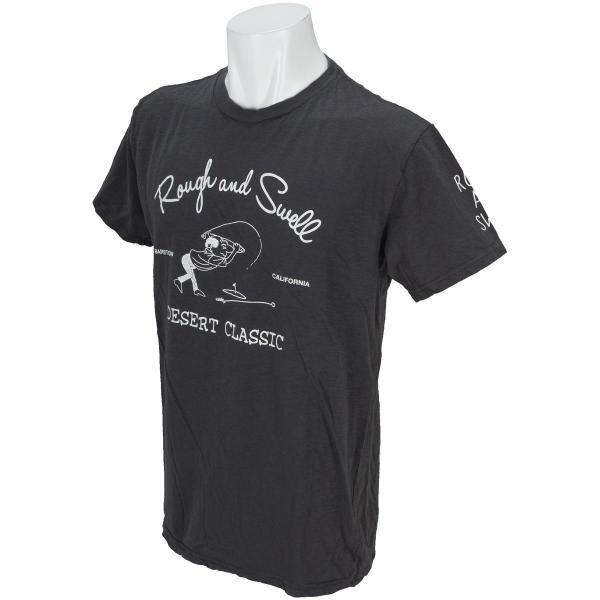 ラフ&スウェル rough&swell綿スラブ半袖Tシャツ