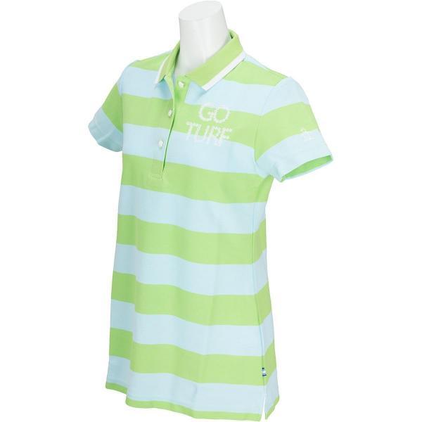 マンシングウェア Munsingwearチュニック半袖ポロシャツ レディス