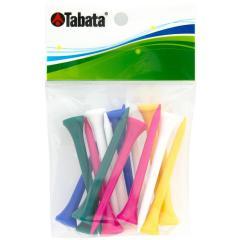 タバタ Tabataスリムティーロング ブルー/イエロー/ホワイト/グリーン/ピンク