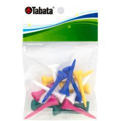 タバタ Tabataスリムティーショート ブルー/イエロー/ホワイト/グリーン/ピンク