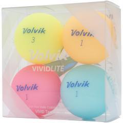 ボルビック VolvikVIVID LITE ボール 4個入り 4個入り シャーベットイエロー/シャーベットオレンジ/シャーベットピンク/シャーベットブルー