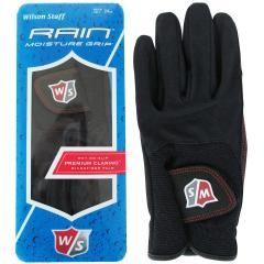 ウイルソン Wilsonレイングローブ 23cm 左手着用(右利き用) ブラック