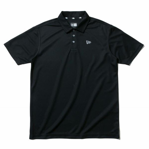 ニューエラ ゴルフラインGOLF 鹿の子半袖ポロシャツ