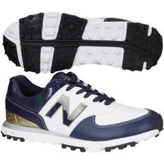 ニューバランス New Balanceゴルフシューズ 23cm ネイビー/タータンチェック