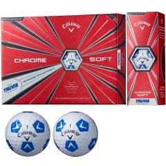 キャロウェイゴルフ CHROM SOFTCHROME SOFT TRUVIS ボール 3ダースセット 3ダース(36個入り) ホワイト/ブルー