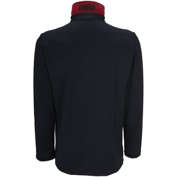 15%OFFクーポン対象商品 プーマ PUMAストレッチ 長袖ポロシャツ クーポンコード:CKJNNWW