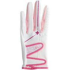 キャスコ KASCOパームフィット グローブ L 左手着用(右利き用) ホワイト/ピンク レディス