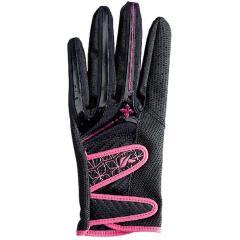 キャスコ KASCOパームフィット グローブ S 左手着用(右利き用) ブラック/ピンク レディス