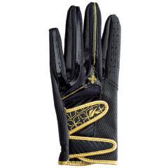 キャスコ KASCOパームフィット グローブ 両手用 M 両手用 ブラック/ゴールド レディス