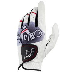 キャロウェイゴルフ Callaway GolfGRAPHIC JM グローブ レフティ 24cm 右手着用(左利き用) ホワイト