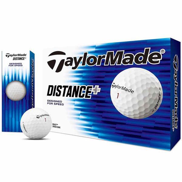 テーラーメイド DISTANCE+DISTANCE+ ボール 1ダース(12個入り) ホワイト