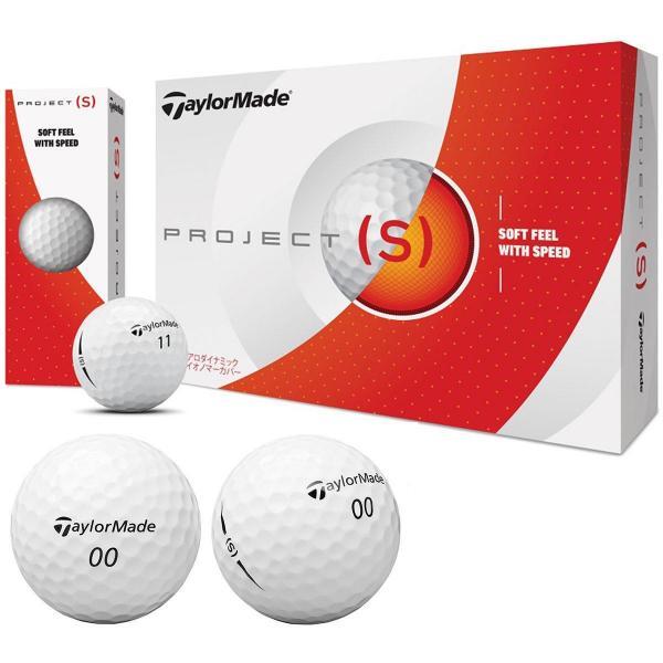 テーラーメイド PROJECT(S)PROJECT(S) ボール 1ダース(12個入り) ホワイト