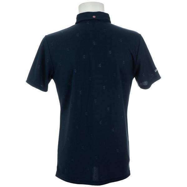 アドミラル Admiralランパントエンボス 半袖ポロシャツ