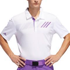 アディダス Adidasチェストストライプ 半袖ポロシャツ