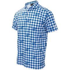 キャスコ KASCOギンガム半袖ポロシャツ