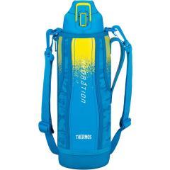 サーモス THERMOS真空断熱スポーツボトル 1.5L ブルーカモフラージュ