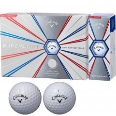 キャロウェイゴルフ SUPERSOFTSUPERSOFT 19 ボール 1ダース(12個入り) ホワイト