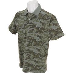 トランスコンチネンツ TRANS CONTINENTSGDO限定 迷彩柄半袖ポロシャツ