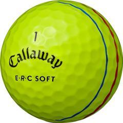 キャロウェイゴルフ E・R・CERC SOFT 19 TRIPLE TRACK ボール 3ダースセット 3ダース(36個入り) イエロー