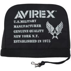 アビレックス ゴルフ AVIREX GOLFアイアンカバー ブラック