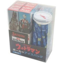 ダンロップ SRIXONAD333 限定ULTRA PACK ボール 8個入り+アイスバッグ セット 8個入り ブルー