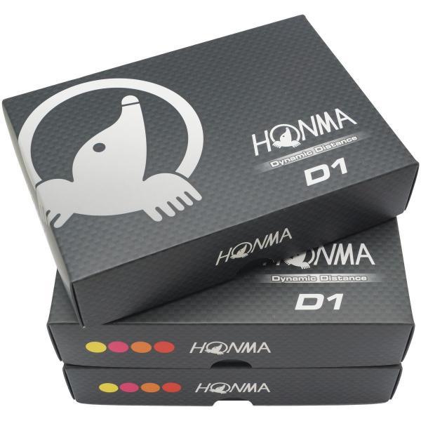 本間ゴルフ HONMAD1 ボール 2016年モデル 3ダースセット 3ダース(36個入り) マルチ/ホワイト