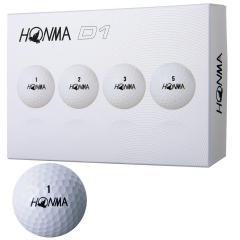 本間ゴルフ HONMAD1 ボール 2018年モデル 50ダースセット 50ダース(600個入り) ホワイト