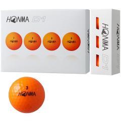 本間ゴルフ HONMAD1 ボール 2018年モデル 50ダースセット 50ダース(600個入り) オレンジ