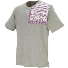 ザ ダファー オブ セントジョージ The DUFFER of ST.GEORGEBLACK LABEL スクエアロゴプリント 半袖Tシャツ