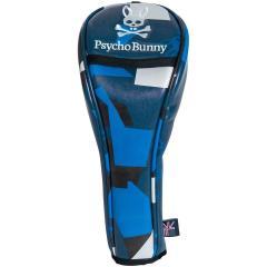サイコバニー PSYCHO BUNNYNEW CAMO ヘッドカバー FW用 有り/ダイヤル式(3、5、7、X) ブルー 34
