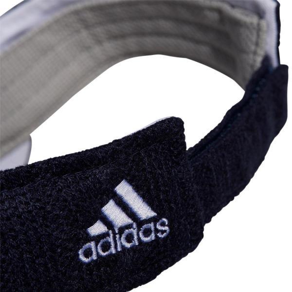 アディダス Adidasケーブルニットサンバイザー レディス